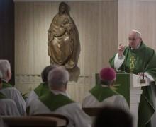Папа: справедливость Бога — это милосердие