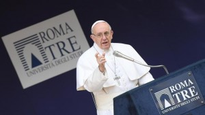 Pope Francis' visit to the University Roma Tre