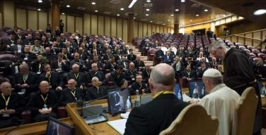 Горячие темы церковной жизни в беседе Папы Франциска с монашескими настоятелями