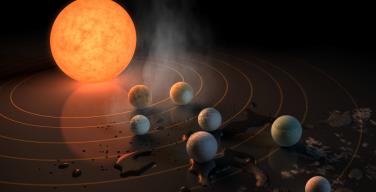 Пресс-конференция NASA: обнаружено семь потенциально пригодных для жизни планет