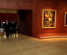 Путин осмотрел выставку «Roma Aeterna» с шедеврами из пинакотеки Ватикана