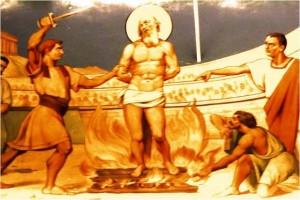 Мученичество святого Поликарпа