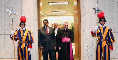 Папа Франциск пригласил правительство и оппозицию Венесуэлы в Ватикан