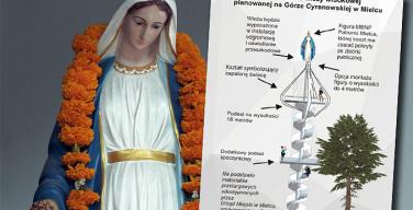В Польше появится смотровая башня с 4-метровой статуей Богородицы