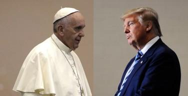 Ватикан не согласен по вопросу мигрантов, но сходится с Трампом в отношении к России и абортам