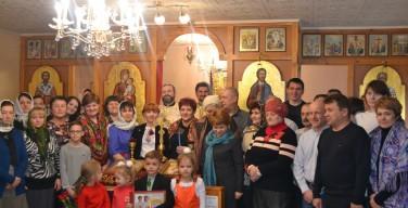 Духовные упражнения в греко-католическом приходе Святого Николая Чудотворца в городе Нижневартовске