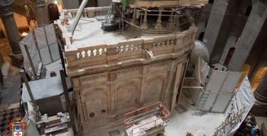 Реставрация кувуклии Гроба Господня закончится до Пасхи