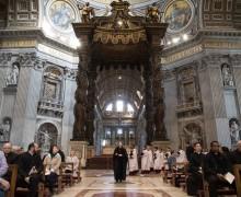 Англиканская вечерня впервые совершена в Ватиканской базилике
