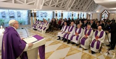 Папа: очерствевшее сердце ведёт к атеизму