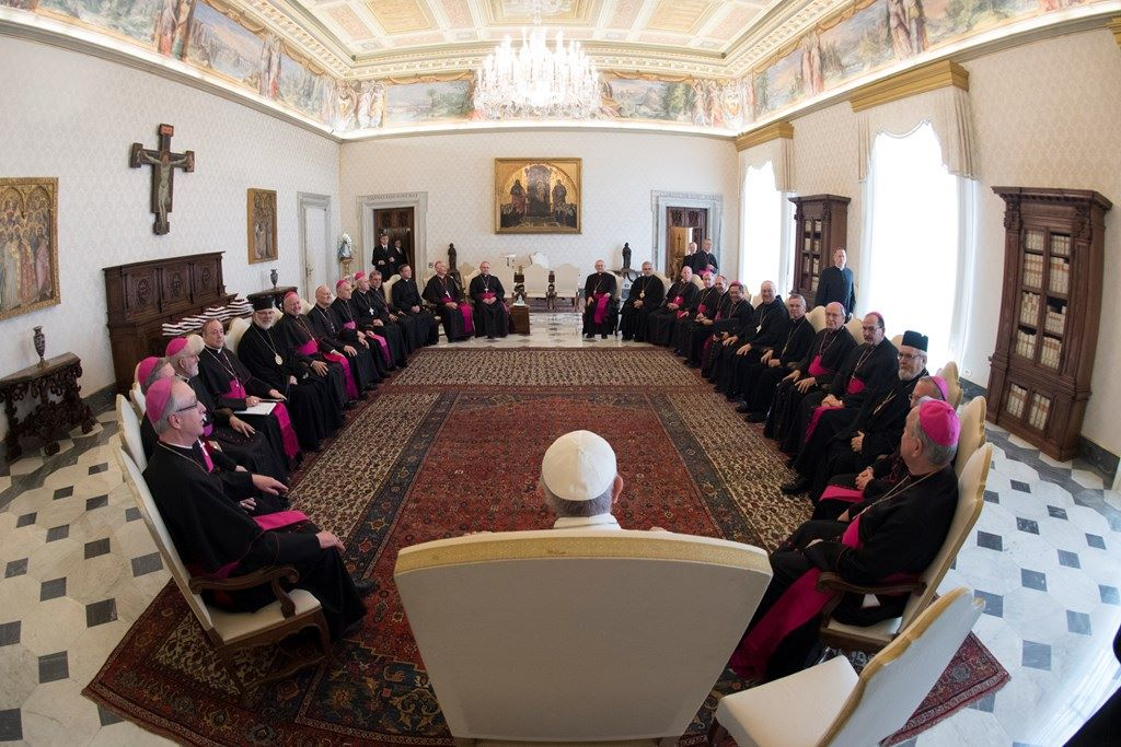 Папа встретился с канадскими епископами в рамках их визита ad limina