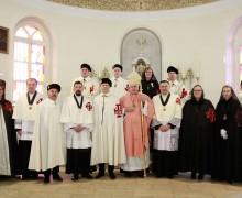 Инвеститура новых кандидатов в Российской делегатуре Рыцарского Ордена Святого Гроба Господнего Иерусалимского
