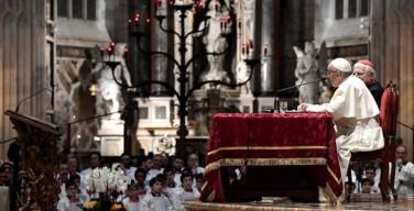 Папа — миланскому духовенству: Церковь должна опасаться не вызовов, а веры, которая считает себя «завершённой»