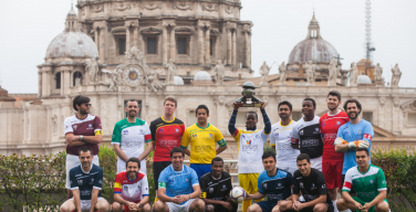 В Риме начался Clericus Cup, футбольный турнир «в тени купола Святого Петра»