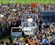 Миллион верующих собрала Папская Месса в Милане