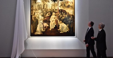 Картину Леонардо да Винчи «Поклонение волхвов» вернули в музей после шести лет реставрации
