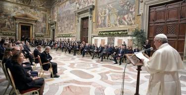 Кризис Европы – время задач и возможностей. Речь Папы Франциска к руководству Европейского союза