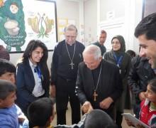 Монс. Томази: поездка в лагеря беженцев, чтобы выразить близость Папы
