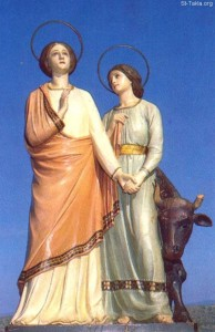 Святые Перпетуя и Фелицитата