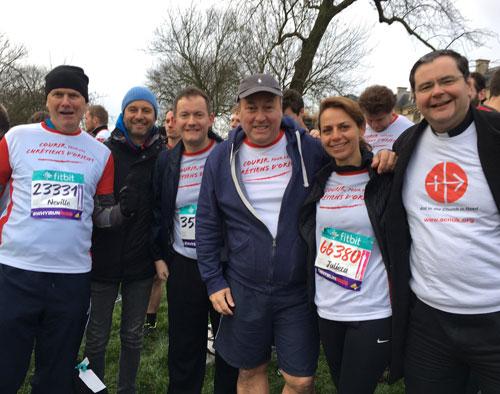 Фонд «Kirche in Not» принял участие в марафонском забеге в пользу гонимых христиан Ближнего Востока