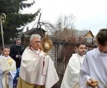 Пасхальное утро в новосибирском приходе францисканцев