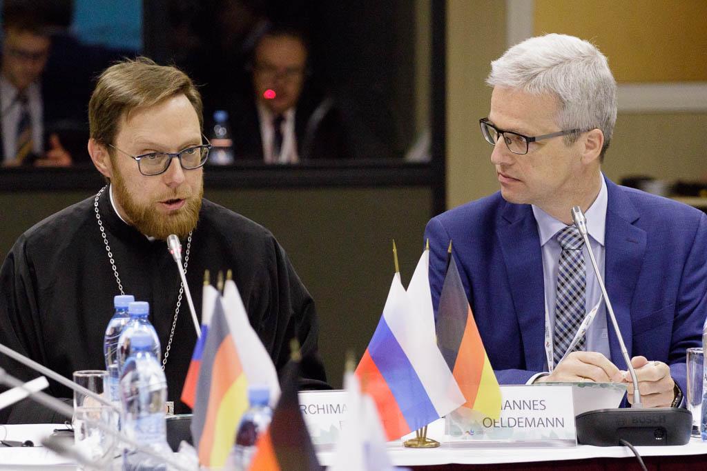 В Санкт-Петербурге состоялось очередное заседание рабочей группы «Церкви в Европе» российско-германского форума «Петербургский диалог»