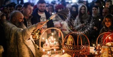 В пасхальных богослужениях в России приняли участие более 4,3 млн человек