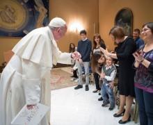 Папа Франциск встретился с юными героями документального фильма «Дети из ´Бамбино Джезу´»