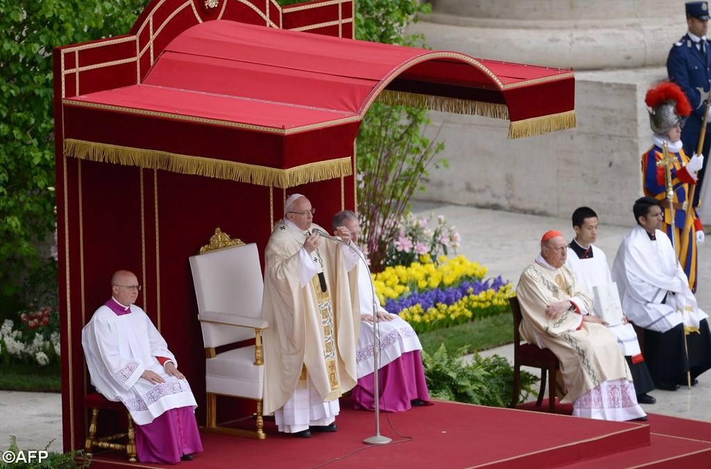 Папа: воскресший Иисус — основа нашей жизни