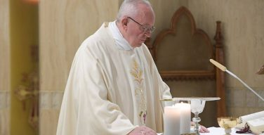 Папа: христиане — свидетели не идеи, но послушания