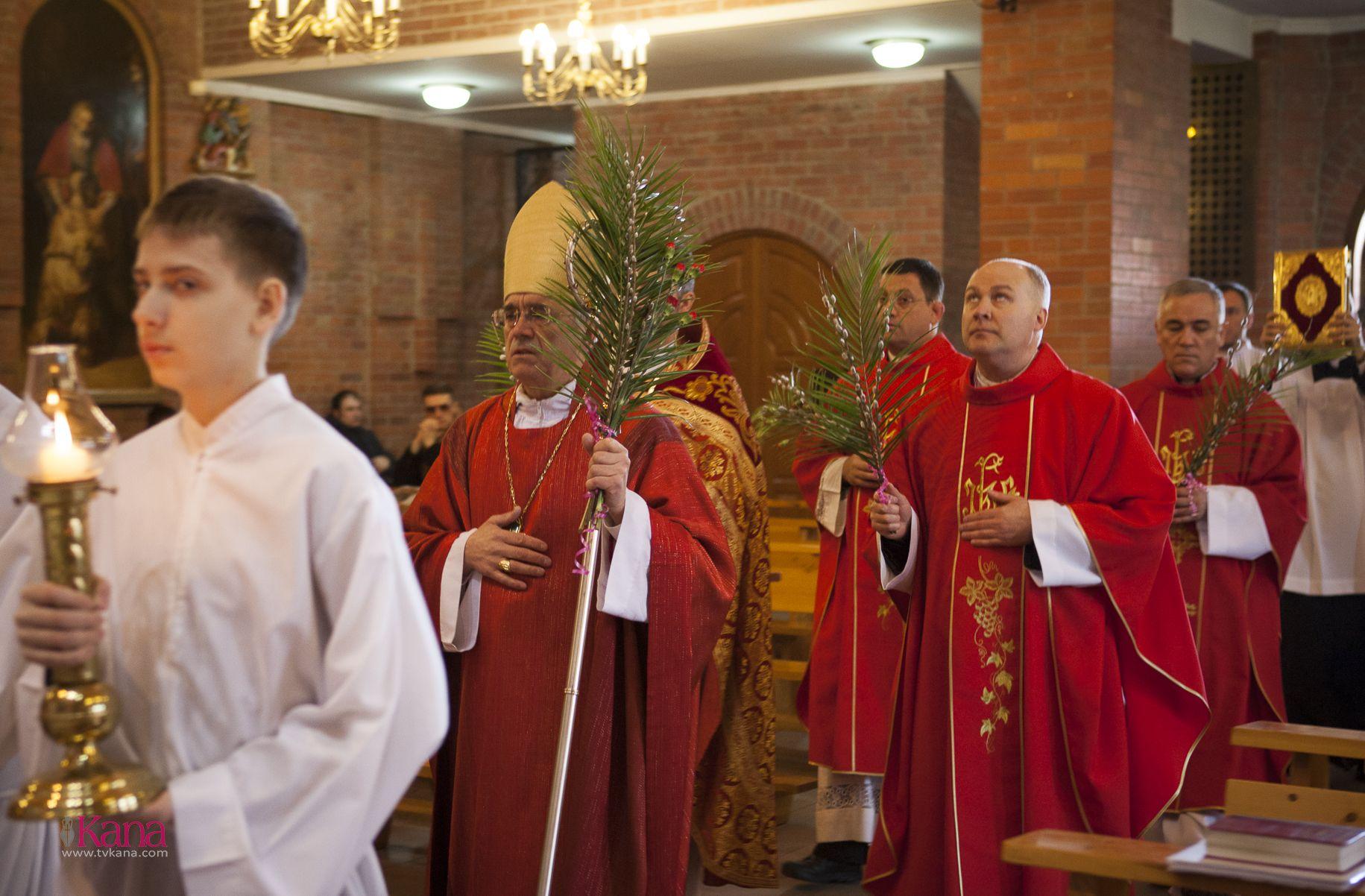 Вербное Воскресенье в Кафедральном соборе Новосибирска (ФОТОРЕПОРТАЖ)