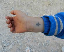 Для гонимых христиан татуировка с изображением креста стала символом близости со страждущим Христом