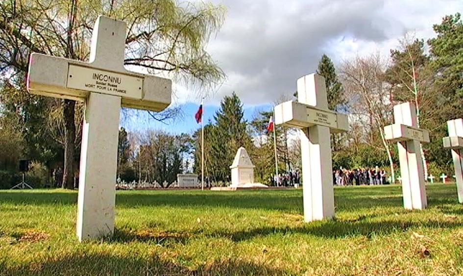 Во Франции прошла церемония перезахоронения останков неизвестного русского солдата времен Первой мировой войны