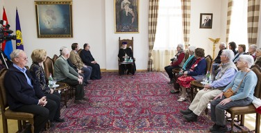 Читатели и авторы французской католической газеты «La Croix» посетили Эчмиадзин