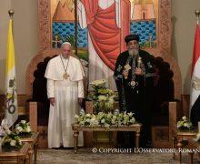 Папа — Патриарху Тавадросу II: нас объединяет кровь невинных мучеников