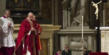 Великая Пятница в Ватикане, 14 апреля 2017 года (ФОТО)