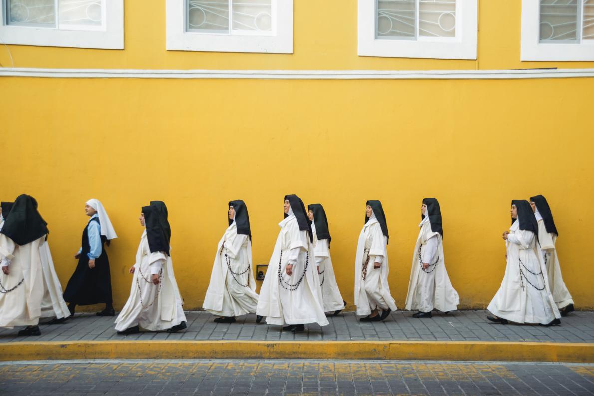 Тайная жизнь мексиканских монахинь: 13 поразительных фото