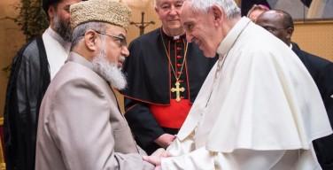 Папа встретился с мусульманской делегацией из Великобритании