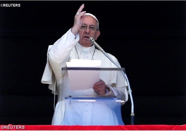 Папа Франциск 17 апреля 2017 г.