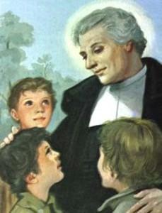 Жан-Батист де ла Салль с детьми