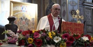 Святейший Отец: причина преследований христиан — ненависть князя мира сего