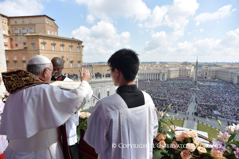 Послание Святейшего Отца Франциска Граду и Миру