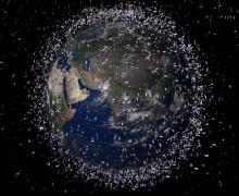 Европейская конференция по космическому мусору: 750 тысяч опасных объектов на орбите