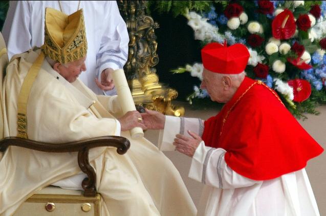 Папа Франциск опечален в связи со смертью кардинала Аттильо Никоры