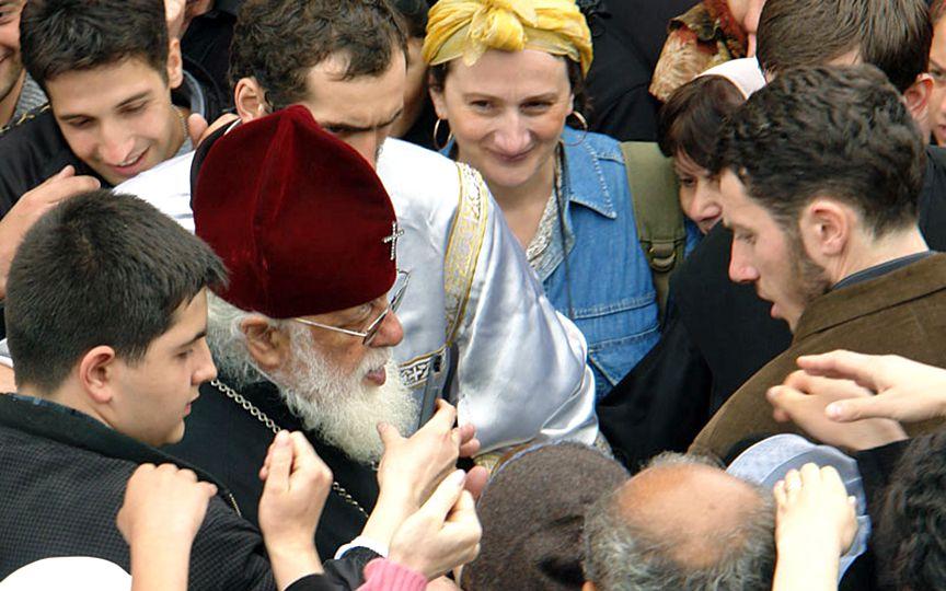 Грузинский Патриарх отменил торжества в честь 40-летия его интронизации