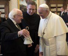 Папа встретился с президентом Ирландии