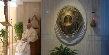 Папа: Святой Дух не может войти в закрытое сердце