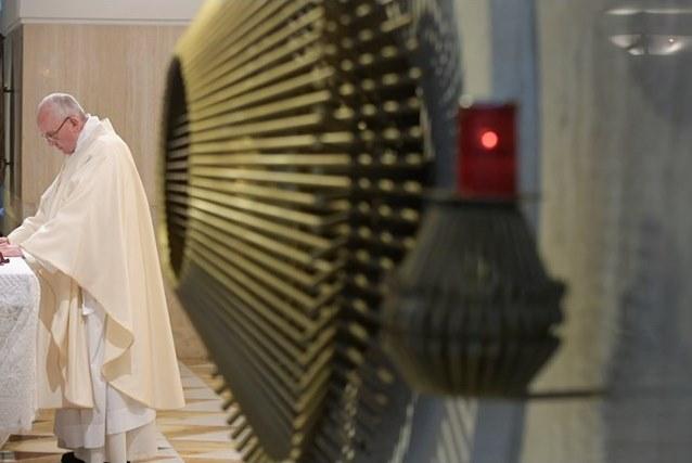 Папа Франциск: Церковь нуждается в смирении