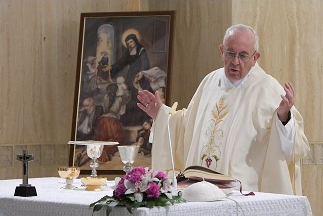 Папа: мир и добро – плоды послушания Слову
