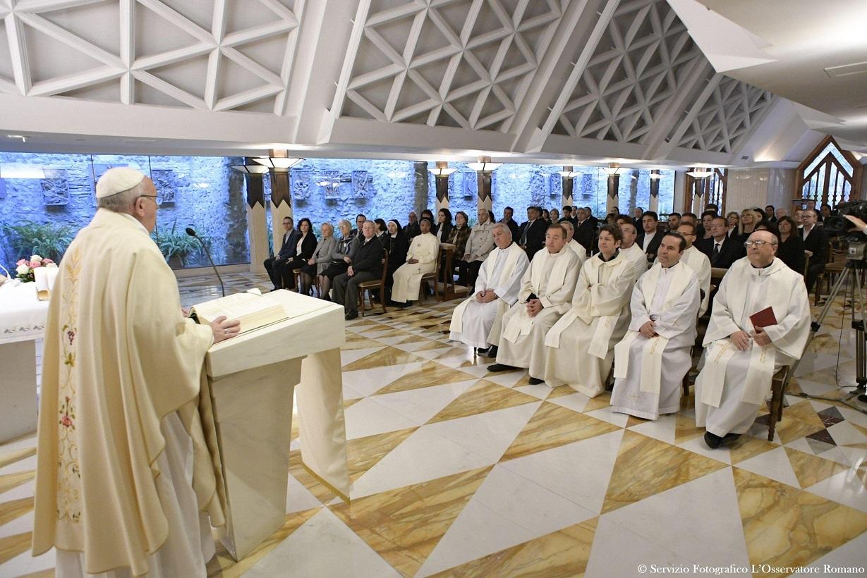 Папа: Бог может преобразить сердце из камня в сердце из плоти