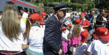 «Детский поезд» в Ватикане: 400 детей из районов, пострадавших от землетрясения